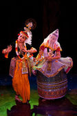 CHENNAI, INDIA - DECEMBER 12: Indian classical dance Manipuri pr — Stock Photo