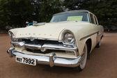 CHENNAI - INDIA - JULY 24: Plymouth Savoy Sedan 1956 (retro vint — Stock Photo