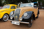 CHENNAI - INDIA - JULY 24: Retro vintage car on Heritage Car Ral — Foto Stock