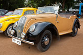 "CHENNAI - INDIA - JULY 24: Morris Series ""E"" Tourer 1946 retro v — Stock Photo"