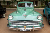 CHENNAI - INDIA - JULY 24: Chrysler (retro vintage car) on Herit — Stock Photo