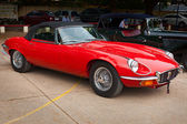 CHENNAI - INDIA - JULY 24: Jaguar V12 (retro vintage car) on Her — Foto Stock