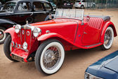 CHENNAI - INDIA - JULY 24: MG (retro vintage car) on Heritage Ca — Foto Stock