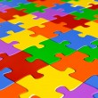 Jigsaw puzzle — Stock Photo #9530020