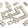 Domino game — Stock Photo