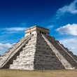 Stock Photo: Mayan pyramid in Chichen-Itza, Mexico