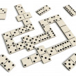 Royalty-Free Stock Photo: Domino game