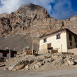 village in spiti valley — Stock Photo
