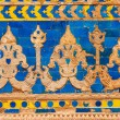 Wall ornaments. Gwalior Fort - Stock Photo