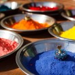 Royalty-Free Stock Photo: Kumkum powder, India