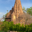 Lakshmana and Matangeshwar temples, Khajuraho - Stock Photo