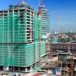 Modern building constraction - Foto Stock