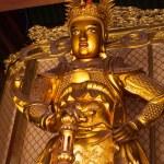 Skanda bodhisattva statue — Stock Photo
