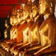 Royalty-Free Stock Photo: Sitting Buddha statues, Thailand