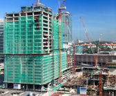 Modern gebouw constraction — Stockfoto