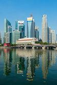 Singapore skyscrapers — Stockfoto