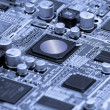 Microelectronics — Stock Photo
