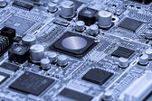 Microelectronics — Stock Photo