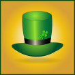 Leprechaun hat — Stock Vector