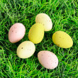 Decorative easter eggs — Foto de stock #9794306