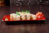 Comida tradicional japonesa sushi japonés — Foto de Stock