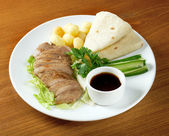 Roasted duck, Chinese style . — Stock Photo