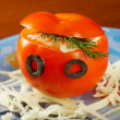 Stock Photo: Tomatoes stuffed