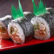 Japanese sushi traditional japanese food. — Stock Photo #10199459