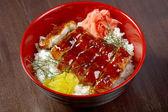 Japanese food roast eel - unagi — Stock Photo