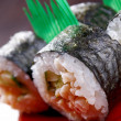 Japanese sushi traditional japanese food. — Stock Photo #10270842