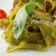 Pasta tagliatelle — Stock Photo