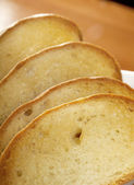 Fresh toasts — Stock Photo