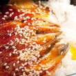 Broiled eel on rice. unagi — Stock Photo #7980047