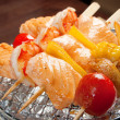 Japanese skewered seafoods — Stock Photo #7980059