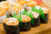 Set de sushi japonés — Foto de Stock