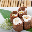 Royalty-Free Stock Photo: Dessert Maki Sushi