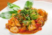 Pollo con vegetales — Foto de Stock