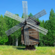 Wind mill of the north country - Stock Photo
