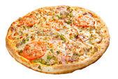 Pizza con queso — Foto de Stock