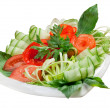 Stock Photo: Vegetable arrangement