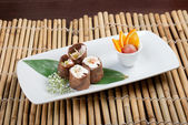 Sushi maki dessert — Photo
