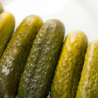 Stock Photo: Gherkin pickles