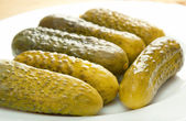 Gherkin pickles — Stock Photo