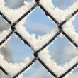 Freezing patterns, winter — Stock Photo #9097211
