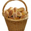 Stock Photo: Basket full of pasties