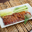Roasted duck, Chinese style . Shallow depth-of-field. — Stock Photo #9336653