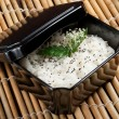 Bowl of cooked rice — Stock Photo