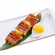 Japanese skewered seafoods — Stock Photo #9473515