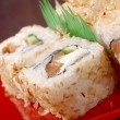 Japanese sushi  traditional japanese food -  