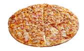 Pizza neat's tongue — Stock Photo